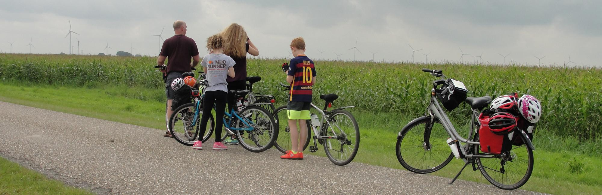 Dutch Bike Tours Cycling holiday Cycling with Children: Back in Time