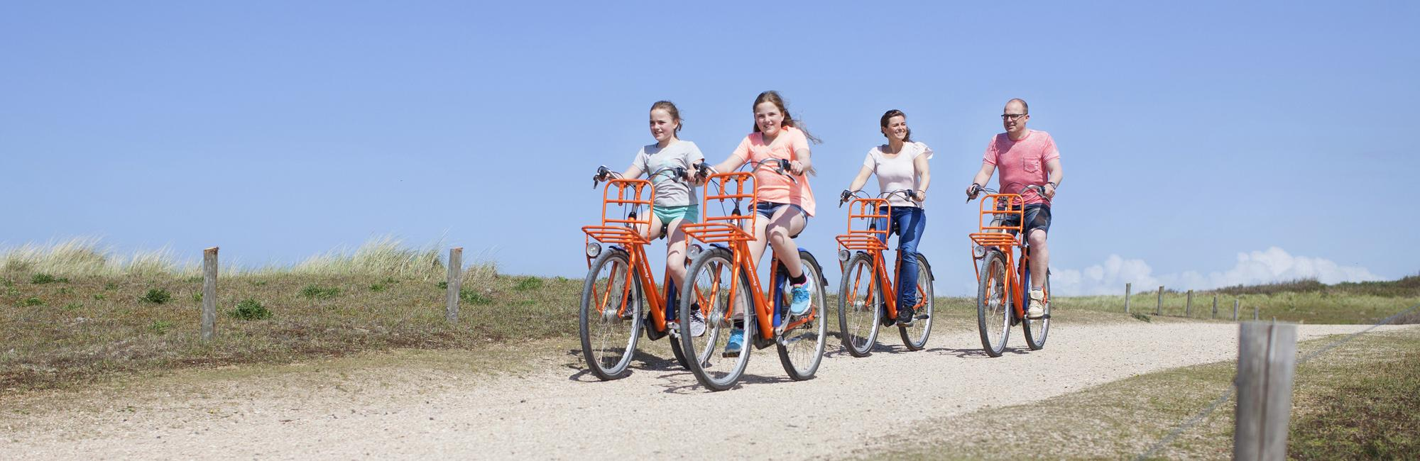 Dutch Bike Tours Cycling holiday Family budget: Beach, dunes and cities