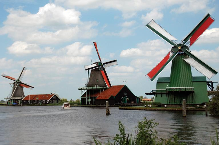 Zaanseschans Windmills