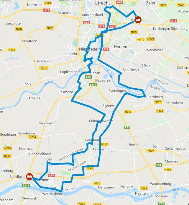 Cycling holiday Netherlands - Dutch Water Line Route