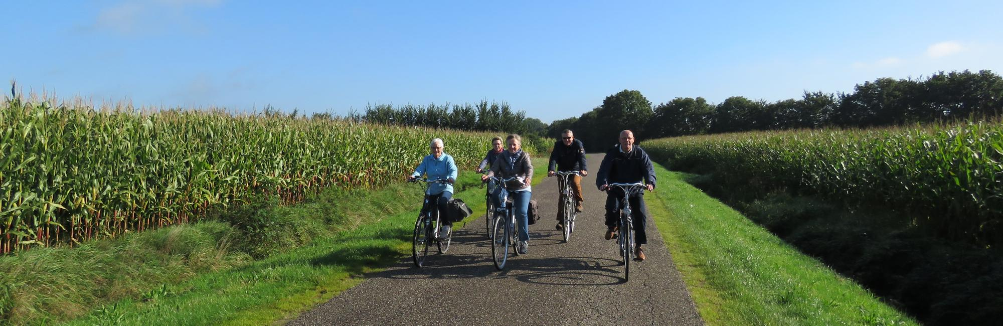 Dutch Bike Tours Cycling holiday Central Drenthe Star Tour N-S