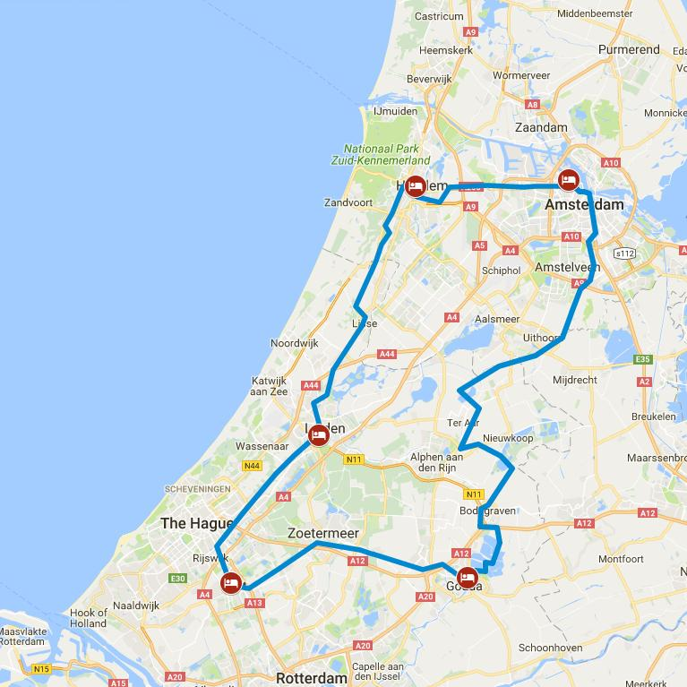 Cycling holiday Holland - Pearls of Holland